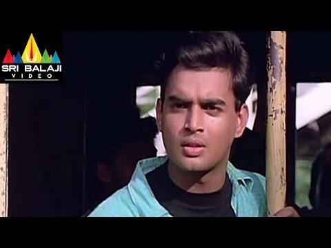 Sakhi Movie Madhavan and Shalini Train Scene   Madhavan, Shalini   Sri Balaji Video