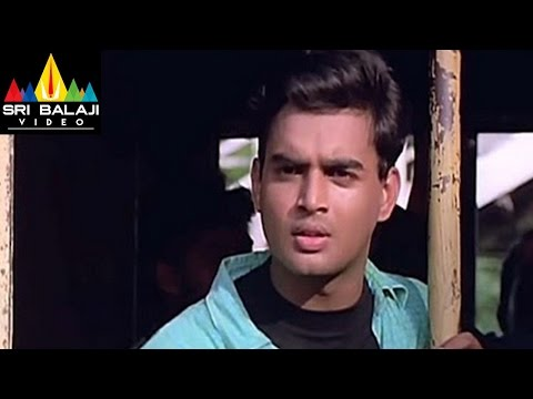 Sakhi Movie Madhavan and Shalini Train Scene | Madhavan, Shalini | Sri Balaji Video