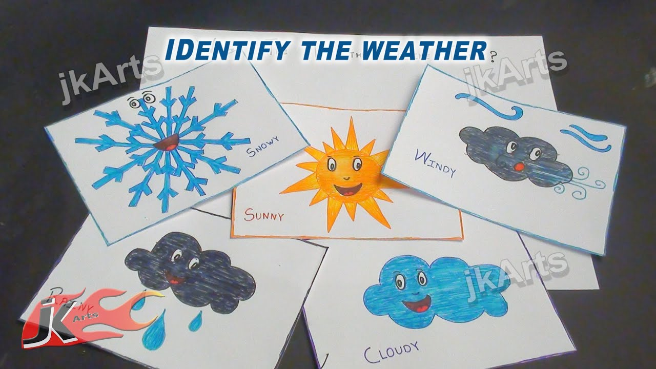DIY Identify the Weather Game