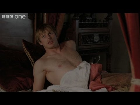 Merlin wakes Arthur  Merlin  Series 4 Episode 7 P  BBC One