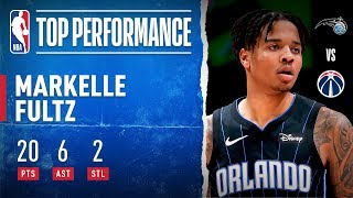 Markelle Fultz Puts Up Career-High 20 PTS!