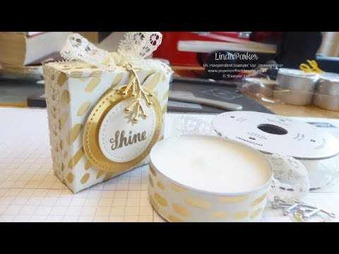 Jumbo Tealight Box - Christmas Countdown Project No. 4