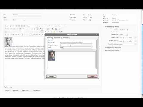 Joomla Article Manager Tutorial