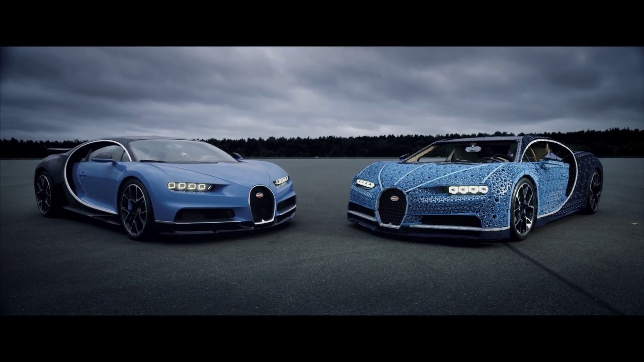 der gro artige lebensgro e lego technic bugatti chiron youtube. Black Bedroom Furniture Sets. Home Design Ideas