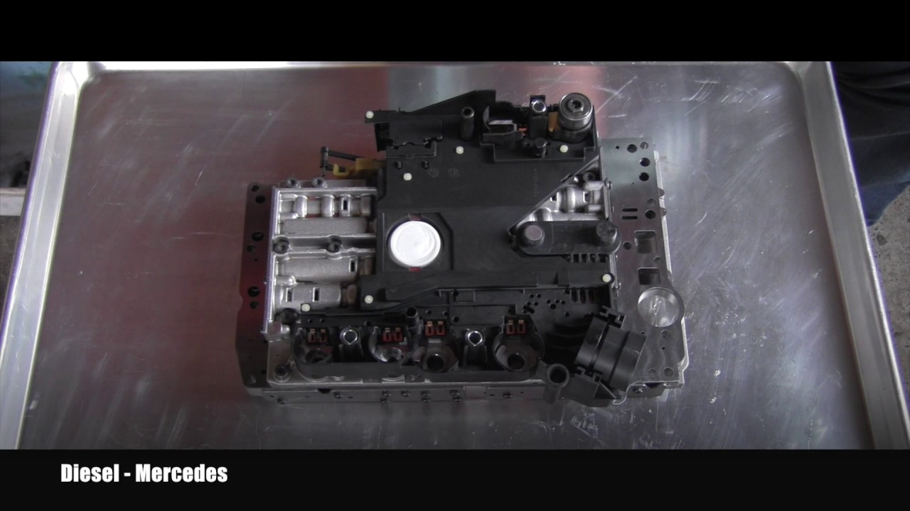 Mercedes Transmission 722 6 Conductor Plate Replacement