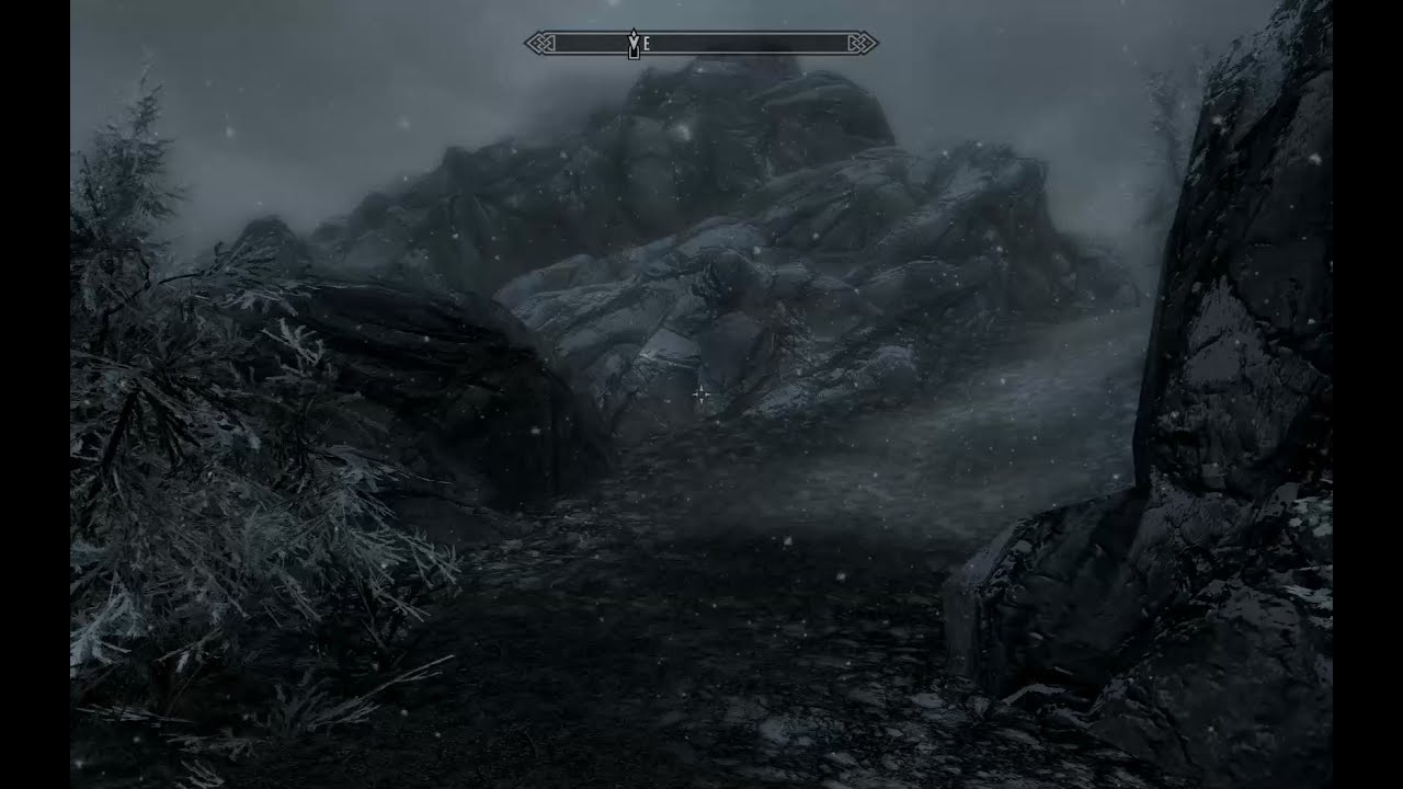 In the land Skyrim (13) deeper into the cave