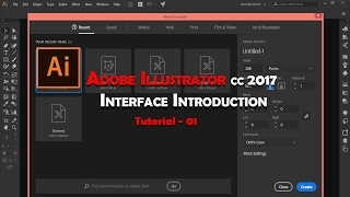 Illustrator cc 2017 Interface Introduction