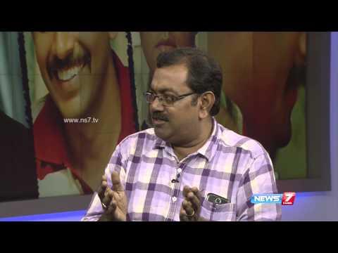 Thottal Thodarum movie crew at News 7 Tamil Studio 1/2