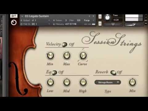 Session Strings Product Video
