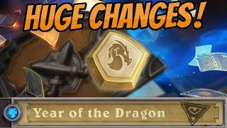 Free Dust from Year of the Dragon   Hall of Fame   New Hearthstone Changes and Update!