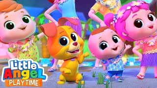 Looby Loo Dance | Little Angel Kids Songs & Nursery Rhymes
