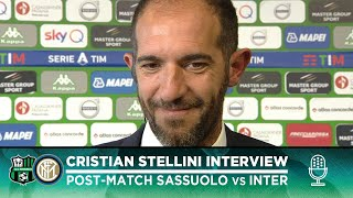 "SASSUOLO 3-4 INTER | CRISTIAN STELLINI INTERVIEW: ""We dominated for 75 minutes"" [SUB ENG]"