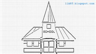 draw drawing easy building sketch plan modern arts materials