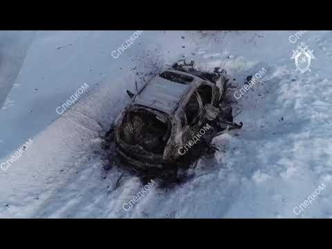 Двойное убийство в Затоне (оперативная съемка)