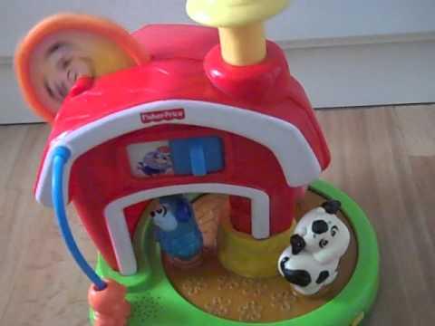Fisher Price Baby Brilliant Farm Barnyard Carousel