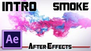 Текст из дыма. Простое Интро в After Effects / КОНКУРС на бесплатный ПИАР!