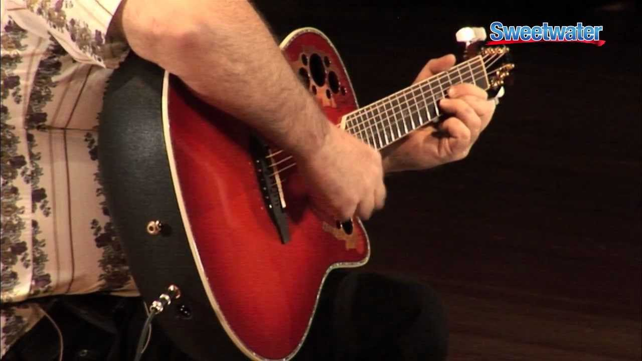 ovation guitars general overview and demo sweetwater sound youtube