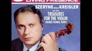 Kreisler- Praeludium and Allegro - Henryk Szeryng