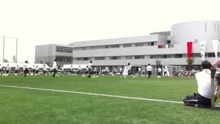 広島なぎさ高校体育祭2011年 応援団ダンス(3カメ)