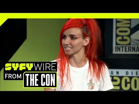 LIGHTS On Skin & Earth And The Marriage Of Comics And Music   SDCC 2018    SYFY WIRE