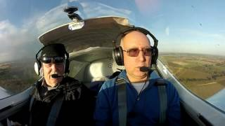 Sport Cruiser Flight from Old Warden 22nd Dec 2016 G-CRZA