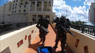 Fallout Cosplay: Enclave Soldiers INVADE TampaBay ComicCon 2018