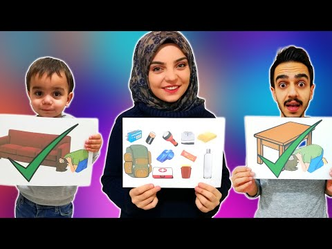 Yağız Deprem Eğitiminde - Eğlenceli Çocuk Videosu YED SHOW