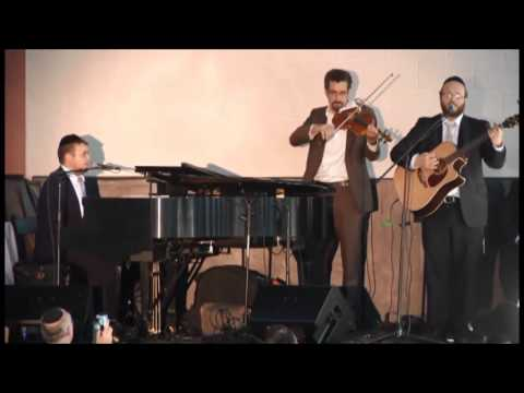 Baruch Levine and Eitan Katz at Achiezer Tehillim & Hakaros Hatov Event Part 4