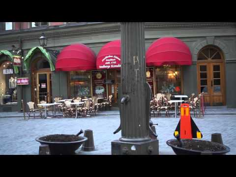 Sweden, Stockholm, virtual walk from Slussen through Gamla Stan to Norrbro/Riksplan