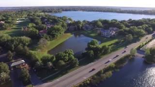 Drone flying in Windermere Orlando FL