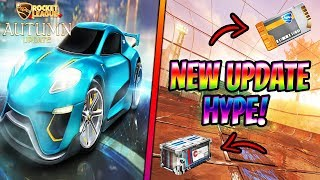 *new autumn update hype!* | huge giveaways (new crate!?) | sub games/trading | rocket league