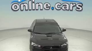 A98549PP Used 2011 Mitsubishi Lancer Evolution MR AWD Black Test Drive, Review, For Sale