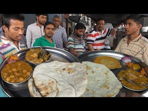 Best Place To Eat Pure Veg Food In Kolkata - 2 Naan Roti wit