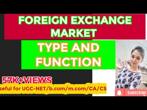 foreign exchange market meaning , types and functions
