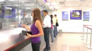 Comercial del Banco Sofitasa en el Centro de Compras Baratta