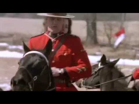 RCMP officers hunting down a terrorist (Clip from