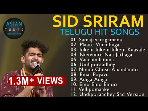 💕 Sid Sriram 2019 Special ❤️ Heart Touching Romantic Jukebox💕  ❤️ Best Telugu Songs Collection 💕