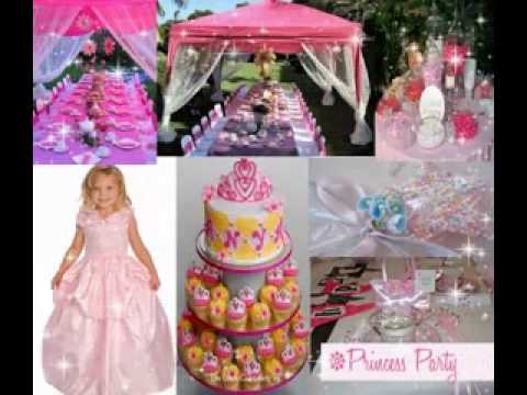 Disney Princess Party Decorations Ideas Youtube