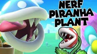 Nerf Piranha Plant (Super Smash Bros. Ultimate Montage)