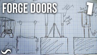 MAKING FORGE DOORS!!! Part 1