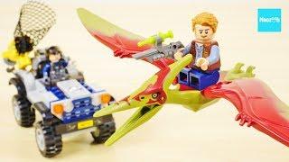 ジュラシックワールド炎の王国(7/13公開)のレゴです。高速オフロード...