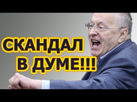 Последние новости в государственной думе с участием жириновского смотреть видео
