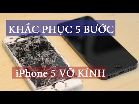 THAY MẶT KÍNH IPHONE 5S 5C chi tiết nhất