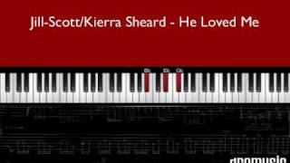 "How to play ""Lyzel He Loved Me"" Jill Scott (piano tutorial)"