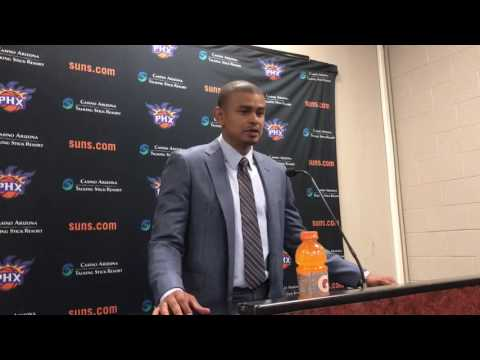 Earl Watson Post Game Press Conference 10/14/16
