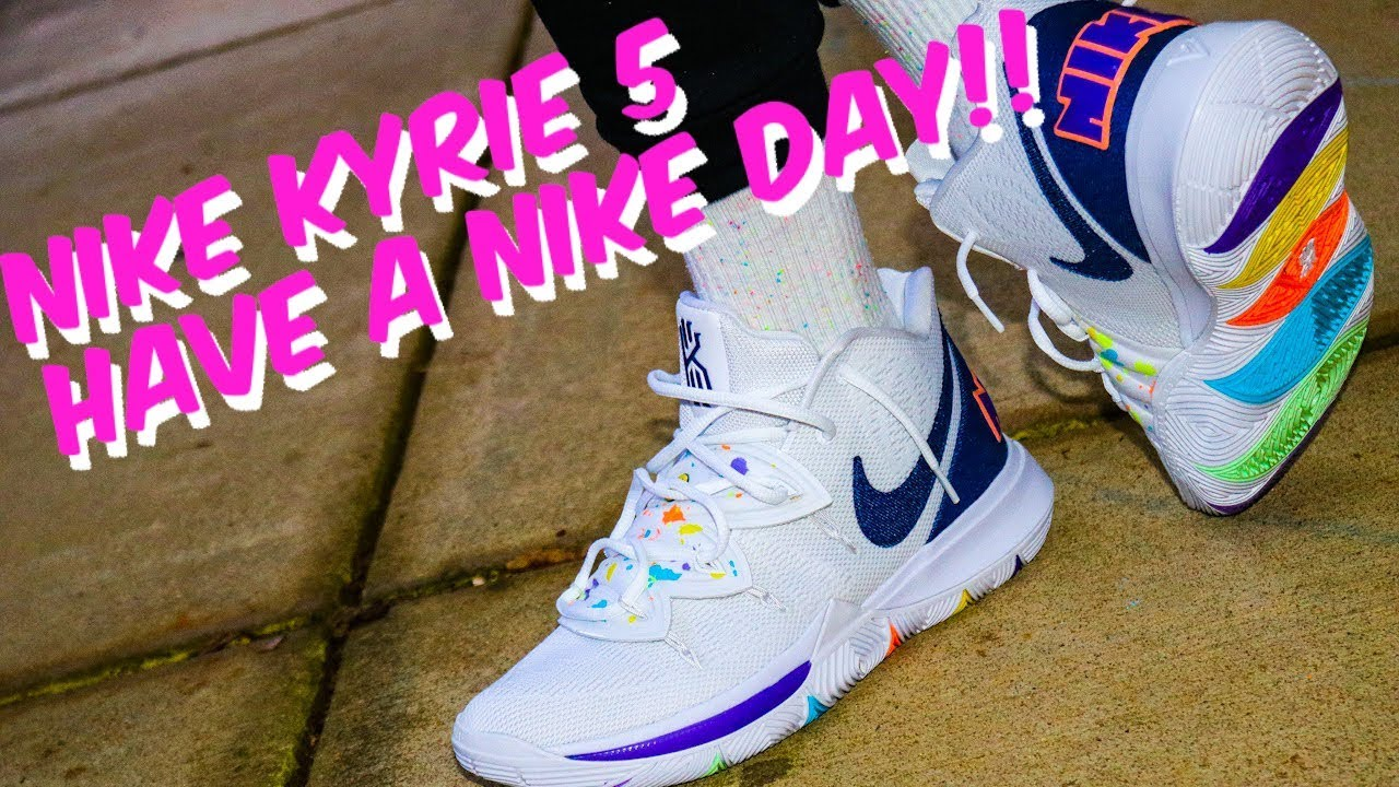 NIKE KYRIE 5 HAVE A NIKE DAY REVIEW