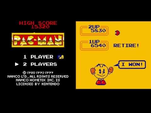 Pac-Man: Special Color Edition (GBC) - Versus Mode