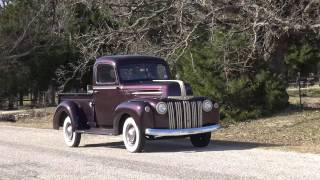 1947 Ford 1/2 Ton Flathead V8 Pickup Truck