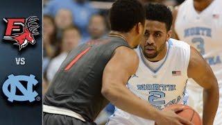 North Carolina vs. Fairfield Basketball Highlights (2015-16)