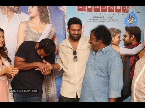Prabhas Launches Intelligent Movie Song